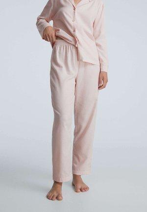 MIT STREIFEN  - Pyjama bottoms - pink