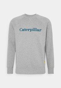 Caterpillar - BASIC PRINTED LOGO CATERPILLAR - Sweatshirt - heather grey - 0