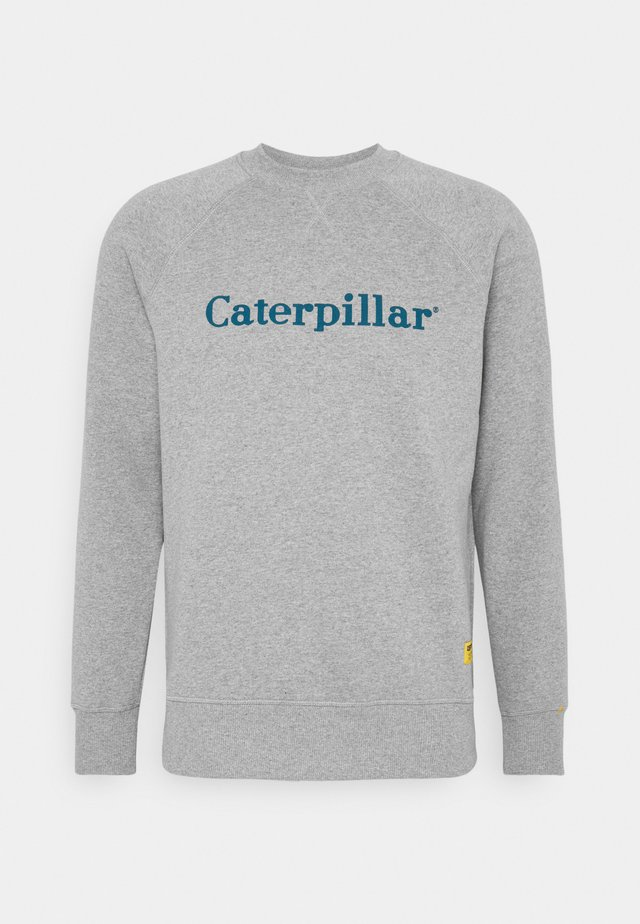 BASIC PRINTED LOGO CATERPILLAR - Sweatshirt - heather grey