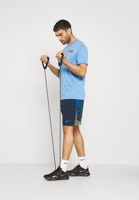 Nike Performance - TEE PRO - T-shirts print - coast/obsidian - 1