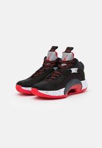 Jordan - AIR XXXV UNISEX - Basketball shoes - black/fire red/reflect silver - 1