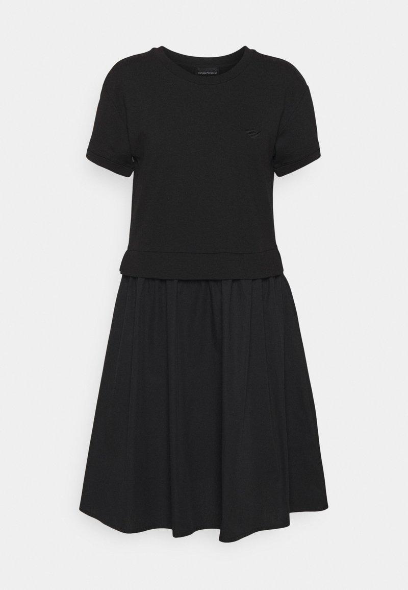 Emporio Armani - DRESS - Jersey dress - black