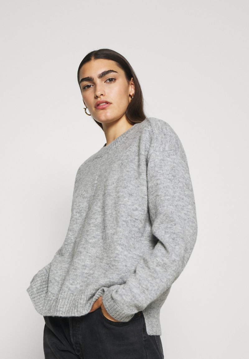 CLOSED - WOMEN - Maglione - light grey melange
