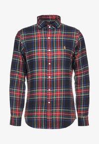 Polo Ralph Lauren - SLIM FIT - Skjorta - red/dark blu - 5