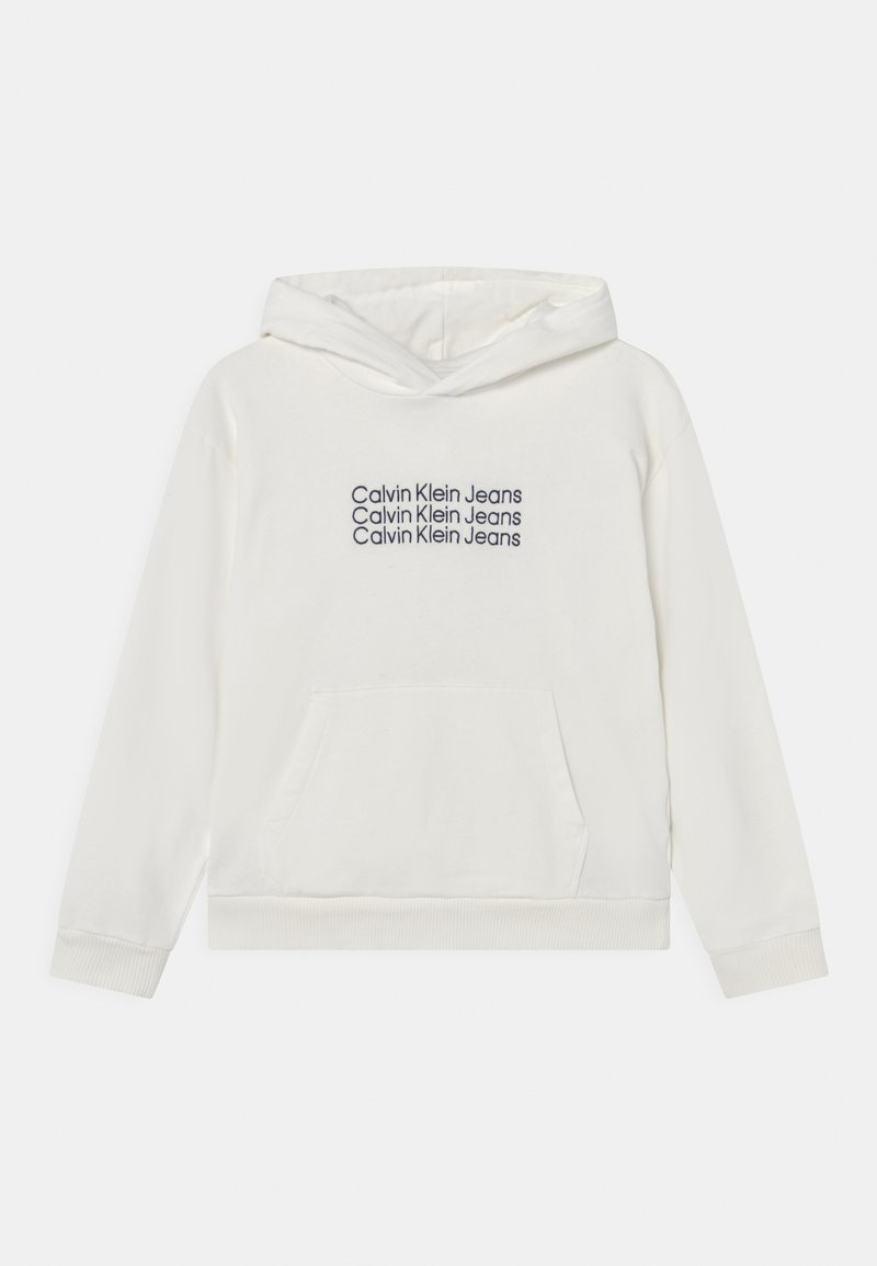 Calvin Klein Jeans - HOODIE UNISEX - Sweatshirt - off-white