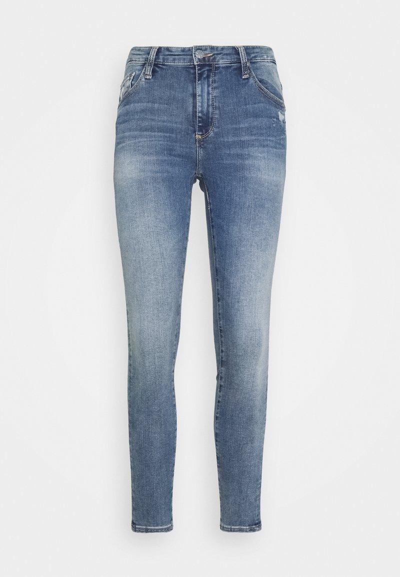 AG Jeans - FARRAH SKINNY ANKLE - Jeans Skinny Fit - blue denim