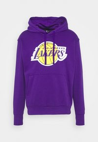 Nike Performance - NBA LOS ANGELES LAKERS ESSENTIAL HOODIE - Klubové oblečení - field purple/amarillo - 4