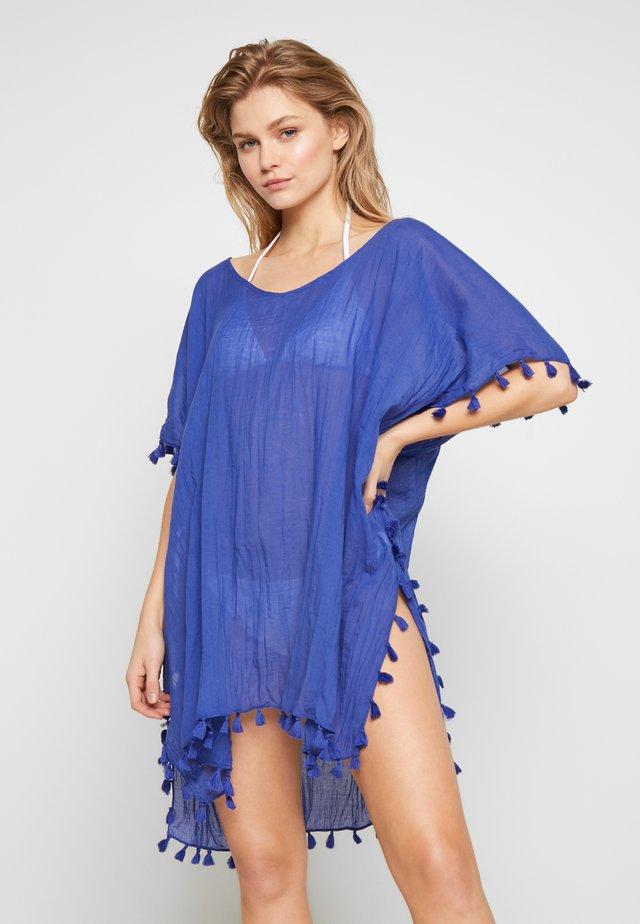 BEACH EDIT-AMNESIA KAFTAN - Beach accessory - reflex blue