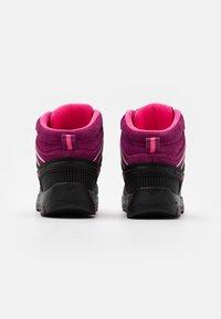 CMP - KIDS RIGEL MID SHOE WP UNISEX - Trekingové boty - berry/pink fluo - 2