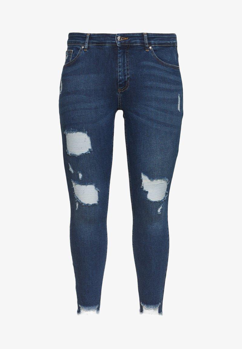 ONLY Carmakoma - CARWILLY LIFE DETROY - Jeans Skinny Fit - light blue denim