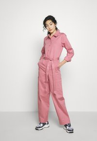Selected Femme Tall - SLFLARA  - Overall / Jumpsuit /Buksedragter - heather rose - 0
