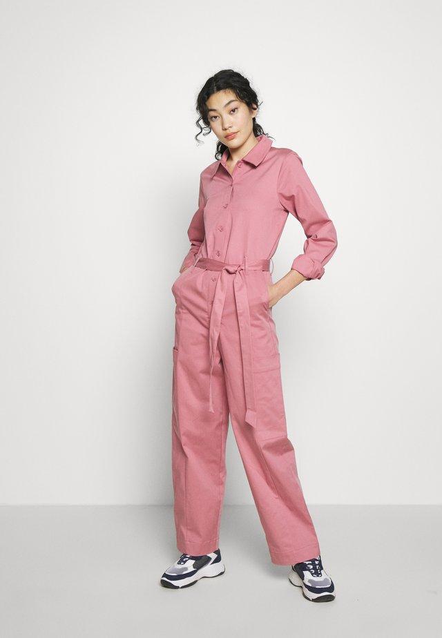 SLFLARA  - Tuta jumpsuit - heather rose