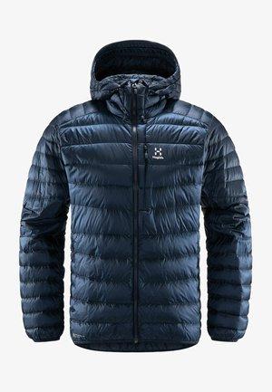 ROC DOWN HOOD - Down jacket - tarn blue