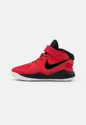 TEAM HUSTLE D 9 FLYEASE UNISEX - Basketball shoes - university red/black