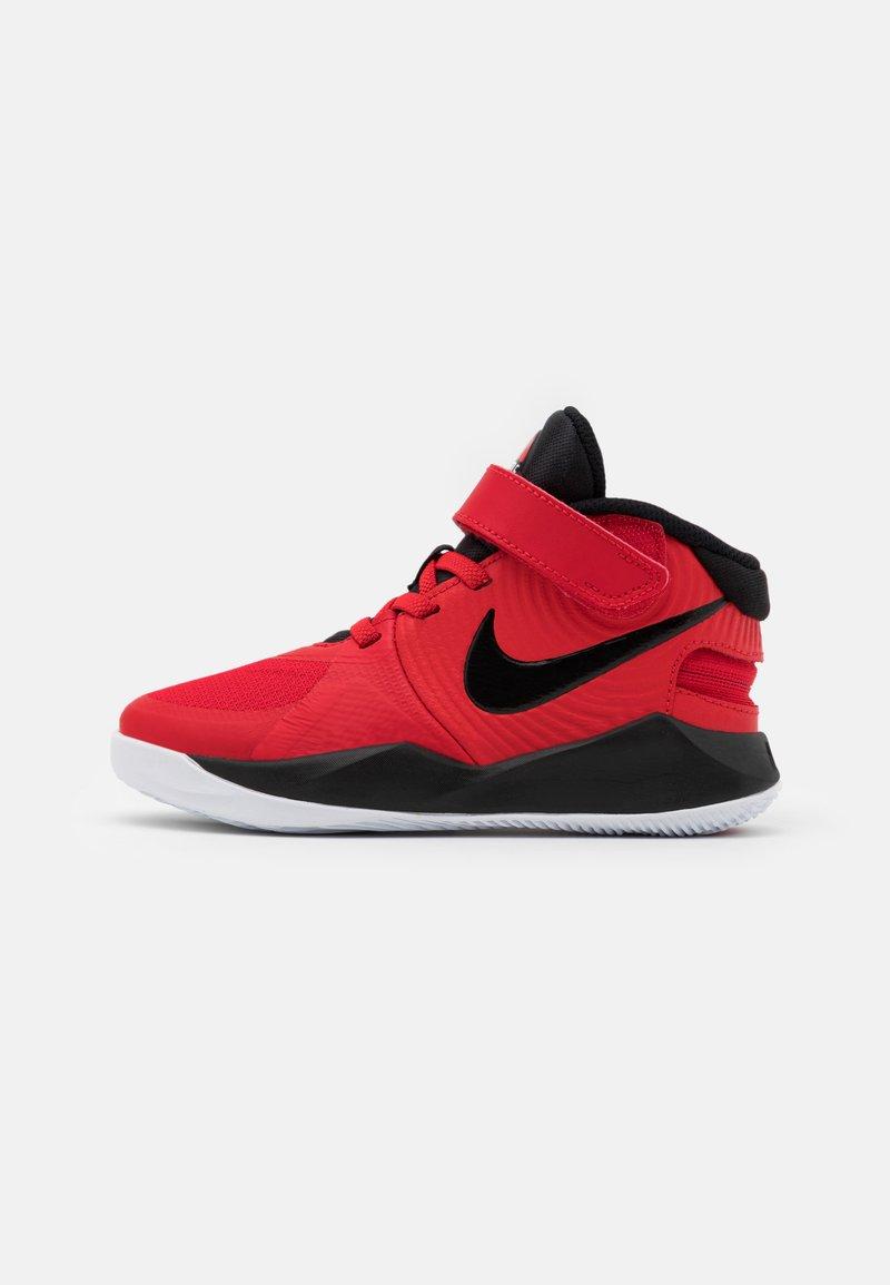 Nike Performance - TEAM HUSTLE D 9 FLYEASE UNISEX - Zapatillas de baloncesto - university red/black