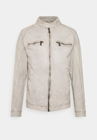 Freaky Nation - BREAK DAWN - Leather jacket - off-white - 0