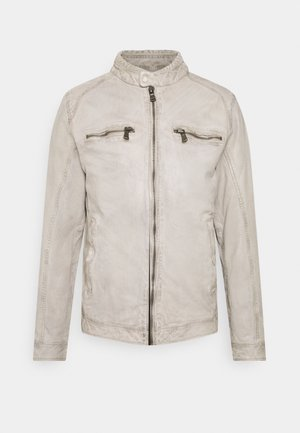 BREAK DAWN - Leather jacket - off-white