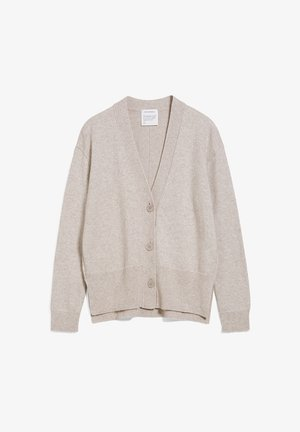 OLENKAA - Cardigan - light caramel melange