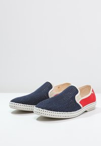 RIVIERAS - FRANCE - Slip-ons - navy/red - 2