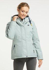 Schmuddelwedda - Winter jacket - rauchmint melange - 0