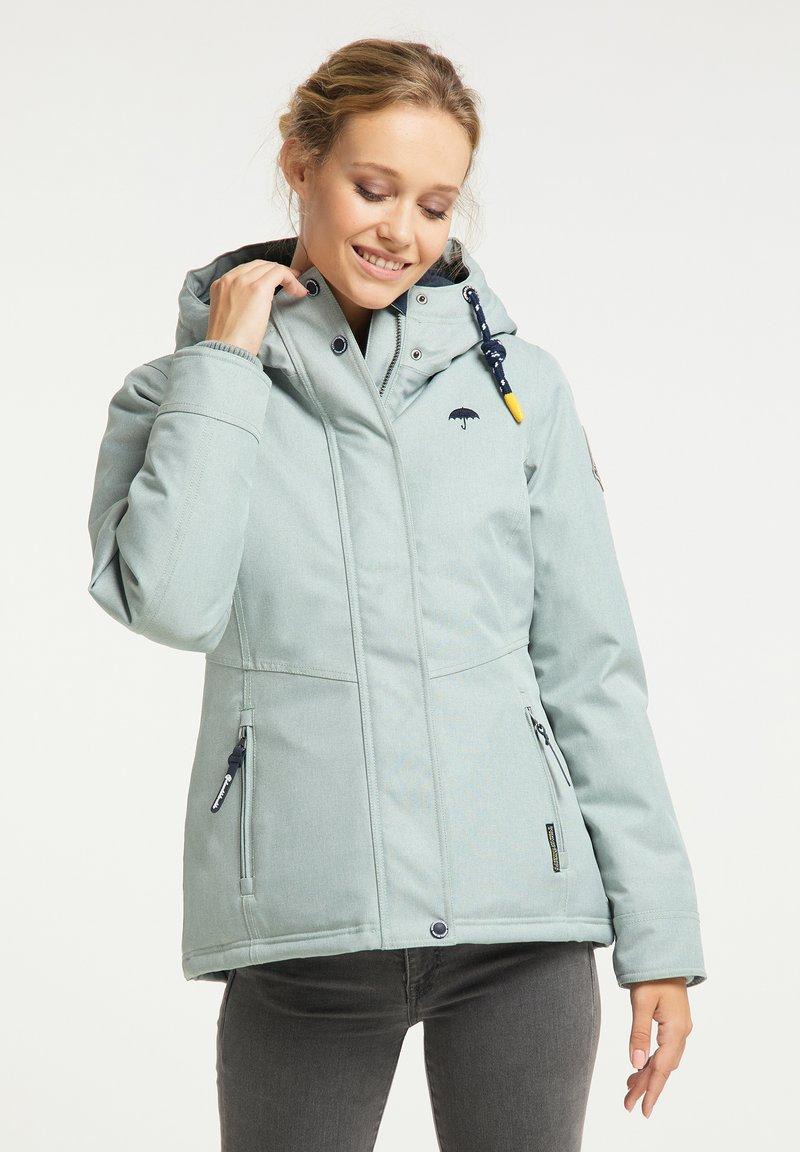 Schmuddelwedda - Winter jacket - rauchmint melange