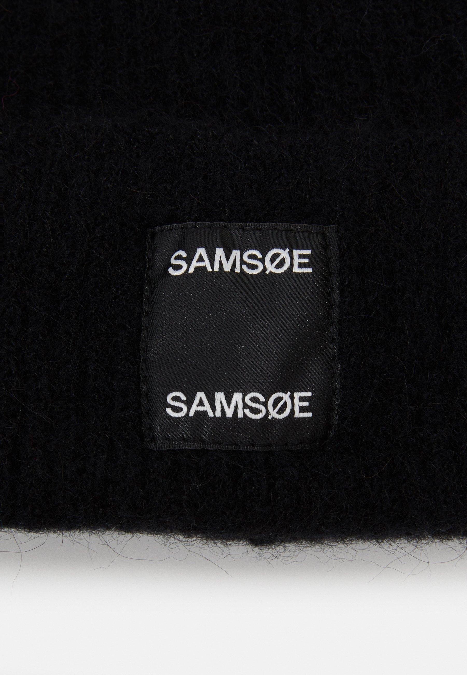 Samsøe Samsøe BERNICE HAT - Lue - black/svart o8labZYUu8kCqYO