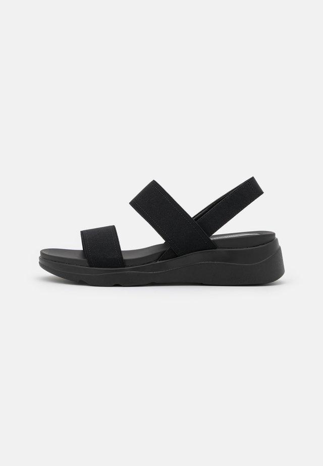 ELISA - Korkeakorkoiset sandaalit - black