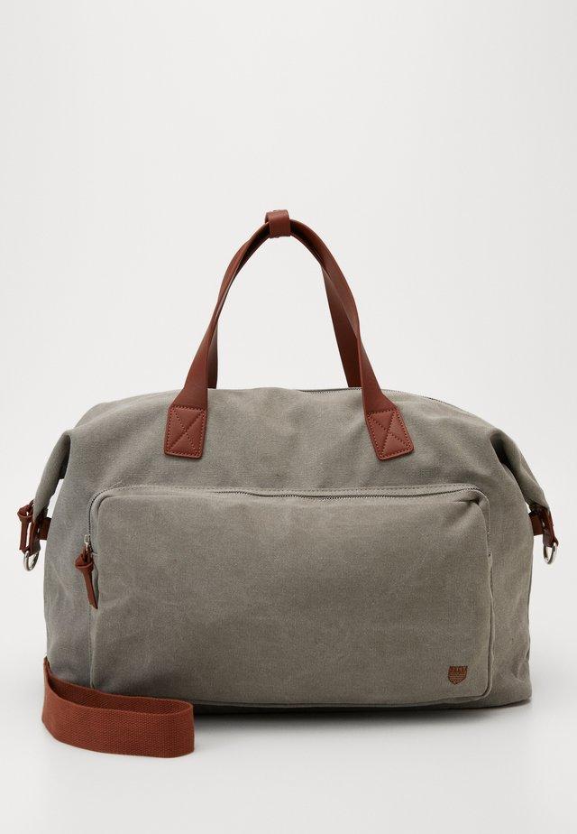 UNISEX - Weekend bag - grey