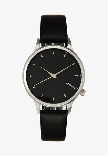 LEXI - Montre - black/silver-coloured