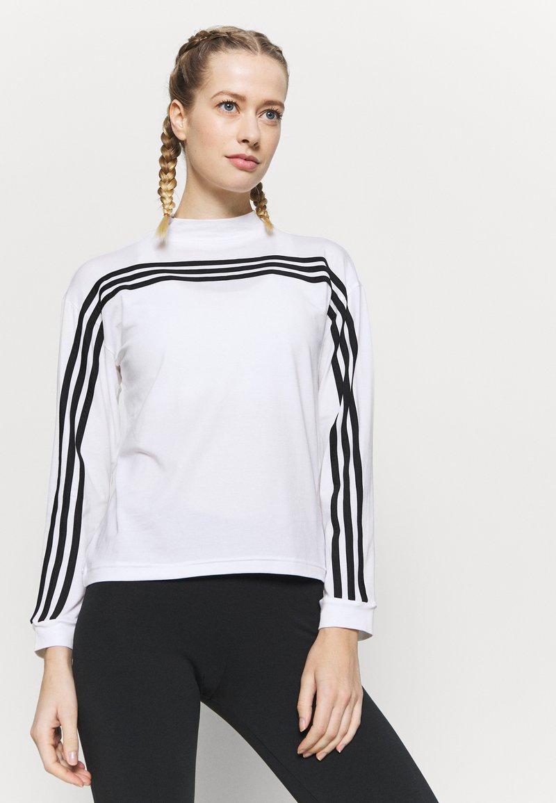 adidas Performance - Topper langermet - white/black