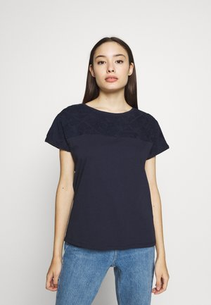 Camiseta estampada - navy