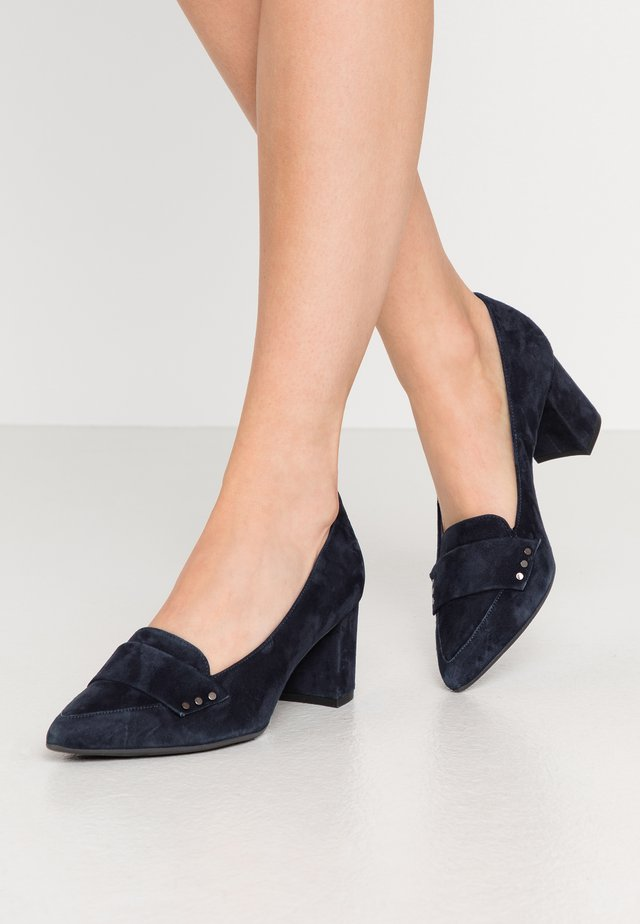 NISCHA - Classic heels - navy