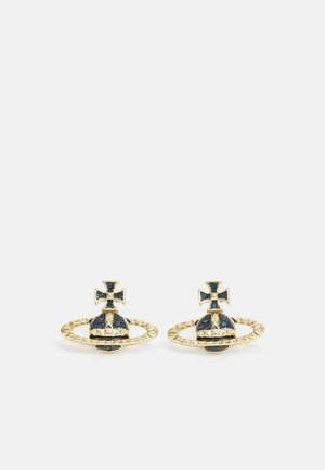 MAYFAIR RELIEF EARRINGS - Kolczyki - gold-coloured