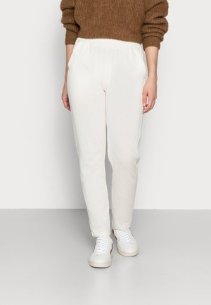 TROUSERS - Tracksuit bottoms - ivory