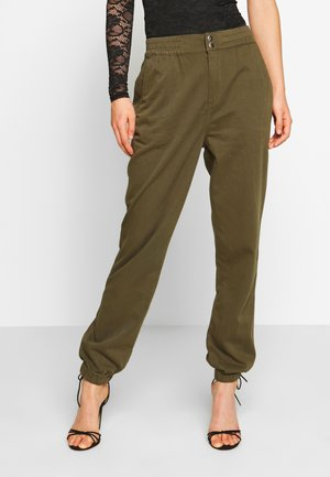 POPPER TROUSER REPEAT - Trousers - khaki