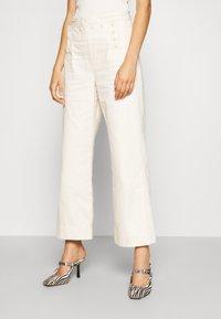 Tory Burch - SAILOR PANT - Trousers - natural - 0