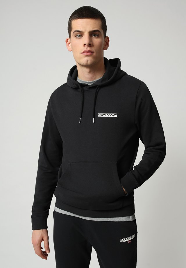 B-SURF HOOD - Luvtröja - black