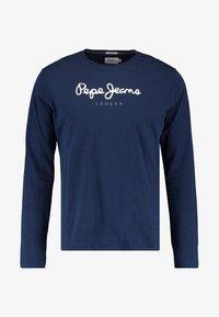 Pepe Jeans - EGGO LONG - Long sleeved top - navy - 4