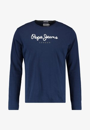 EGGO LONG - Long sleeved top - navy