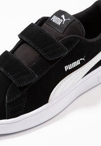 Puma - SMASH - Tenisky - black/white - 2