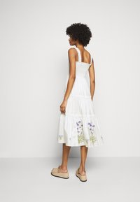 Tory Burch - SMOCKED DRESS - Day dress - new ivory - 2
