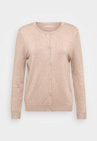 Anna Field - BASIC- crew neck cardigan - Cardigan - camel melange - 3