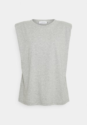 FIOLA  - T-shirt - bas - light grey melange