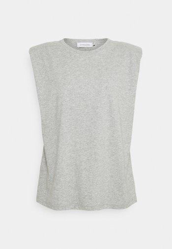 FIOLA  - Camiseta básica - light grey melange
