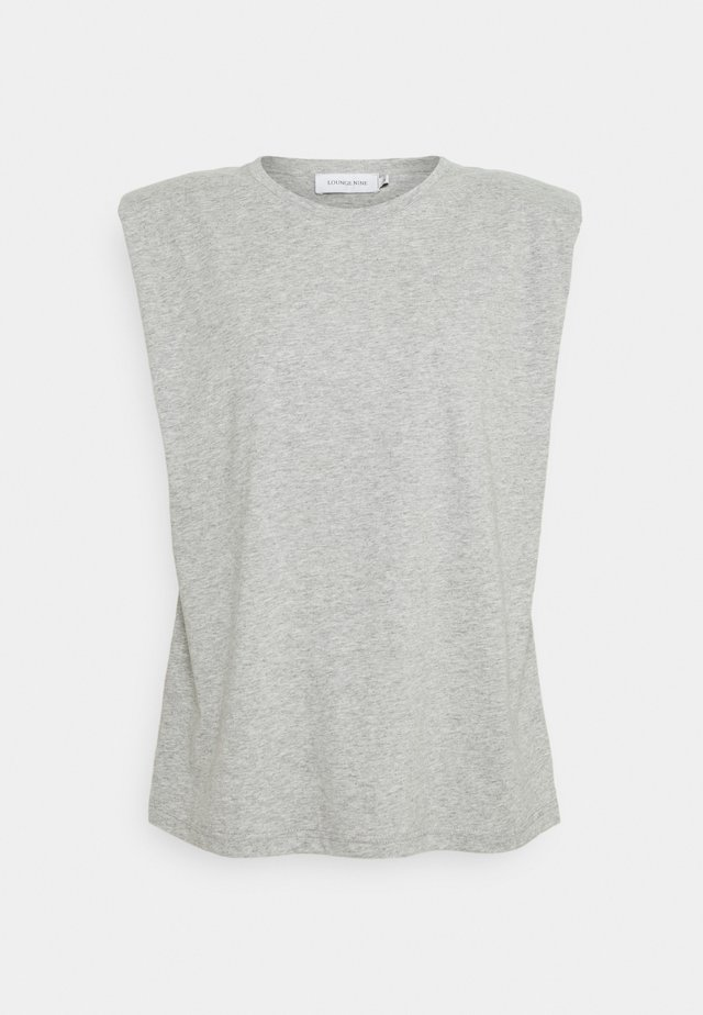 FIOLA  - T-shirt basic - light grey melange