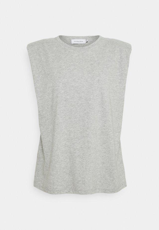 FIOLA  - T-shirt - bas - light grey melange