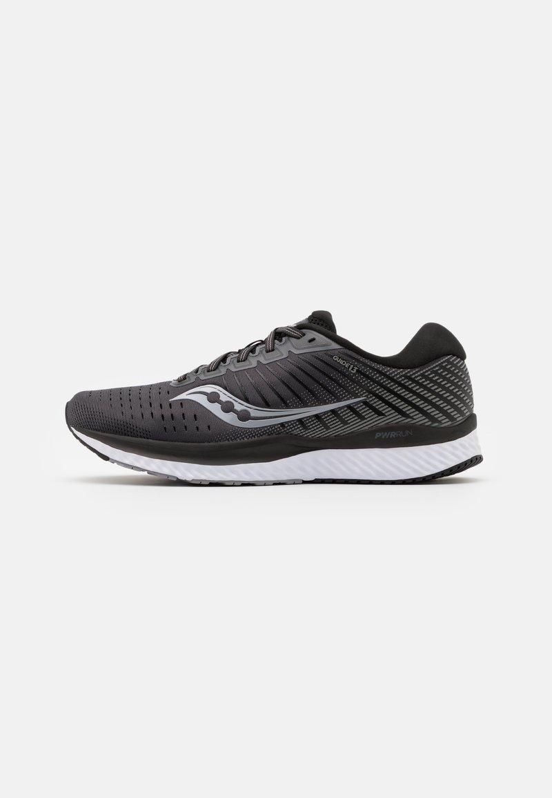 Saucony - GUIDE 13 - Zapatillas de running estables - black/white