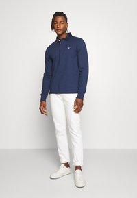 GANT - THE ORIGINAL HEAVY RUGGER - Polo shirt - marine melange - 1