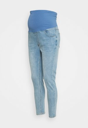 MATERNITY CROPPED SKINNY OVER-BELLY - Jeans Skinny Fit - brighton blue