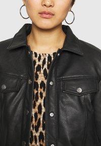 Deadwood - FRANKIE - Leather jacket - black - 3